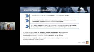 Linee guida sul General Data Protection Regulation  parte 1 thumbnail