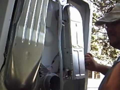Roper Dryer No Heat - YouTube