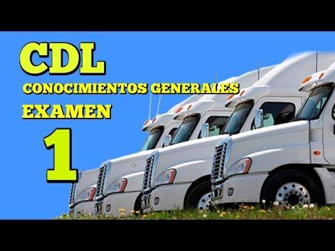 CDL Conocimientos Generales #1/Preguntas del Examen de Manejo en Español camiones