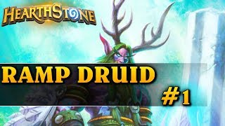 RAMP DRUID #1 - Hearthstone Decks std