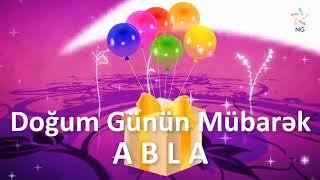 Doğum Günü Videosu - ABLA