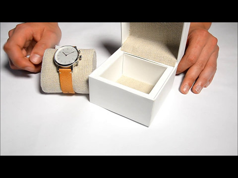 Kronaby Nord Hybrid Smartwatch - Smartwatch.de Unboxing [DEUTSCH]