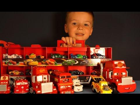 Видео Тачки Маквин. Игрушки Тачки. Молния Маквин. Disney Cars Toys Collection
