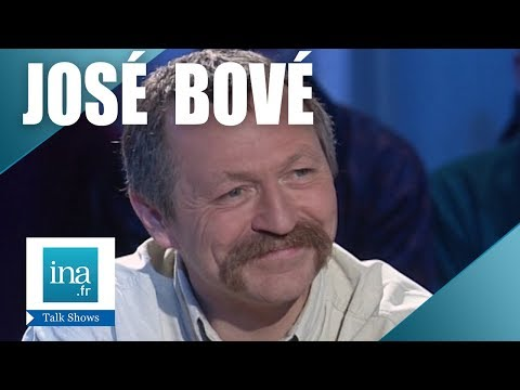 interview nulle de José Bové - Archive INA