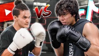 TRAINING FOR MY BOXING MATCH VS FAZE JARVIS!