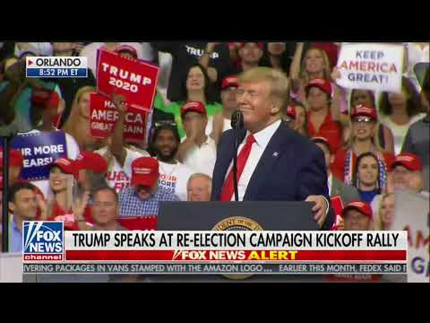 WATCH: Trump lets audience decide his new campaign slogan
