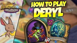 How To Play Deryl - Coaching From Bebe (11k+ rated) | Firebat Battlegrounds