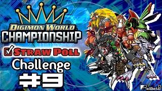 "Digimon World Championship: Poll Challenge! Capitulo 9 ""¡Más relleno que Naruto!"""