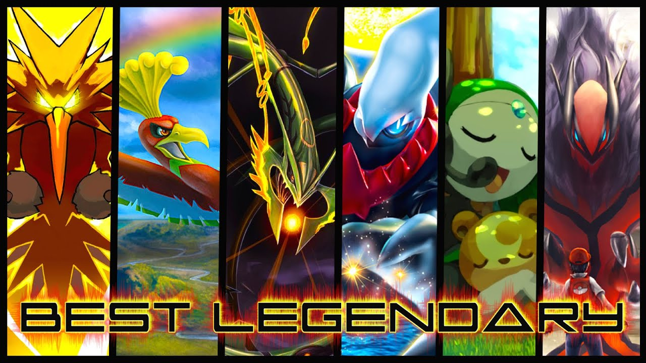 Which Legendary Pokemon is the Best?! - YouTube