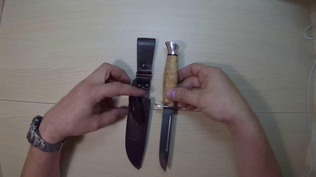 Нож Бекас 95Х18 - АиР Златоуст (zlatmax.ru) - YouTube