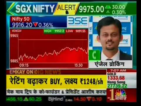 Buy GSFC with a target of INR 158- Mr. Sameet Chavan, CNBC Awaaz, 7th September