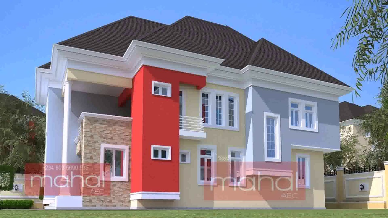 4 bedroom duplex design in nigeria for Nigerian architectural designs duplex