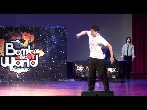 pop shin vs Dokyun @ Bomb The World Vol.1 Best 8