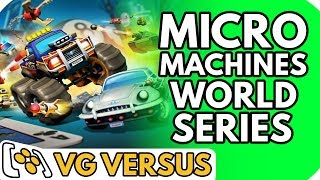 Micro Machines World Series - VG Versus