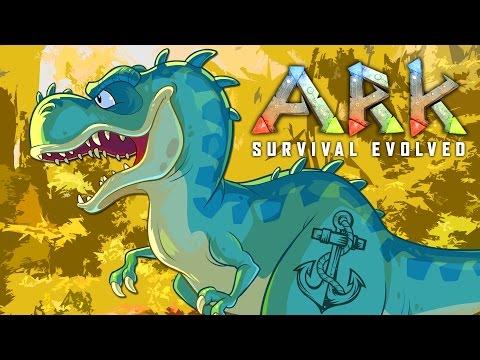 ALPHA T-REX TOUGH GUY ★ ARK: Survival Evolved (65)