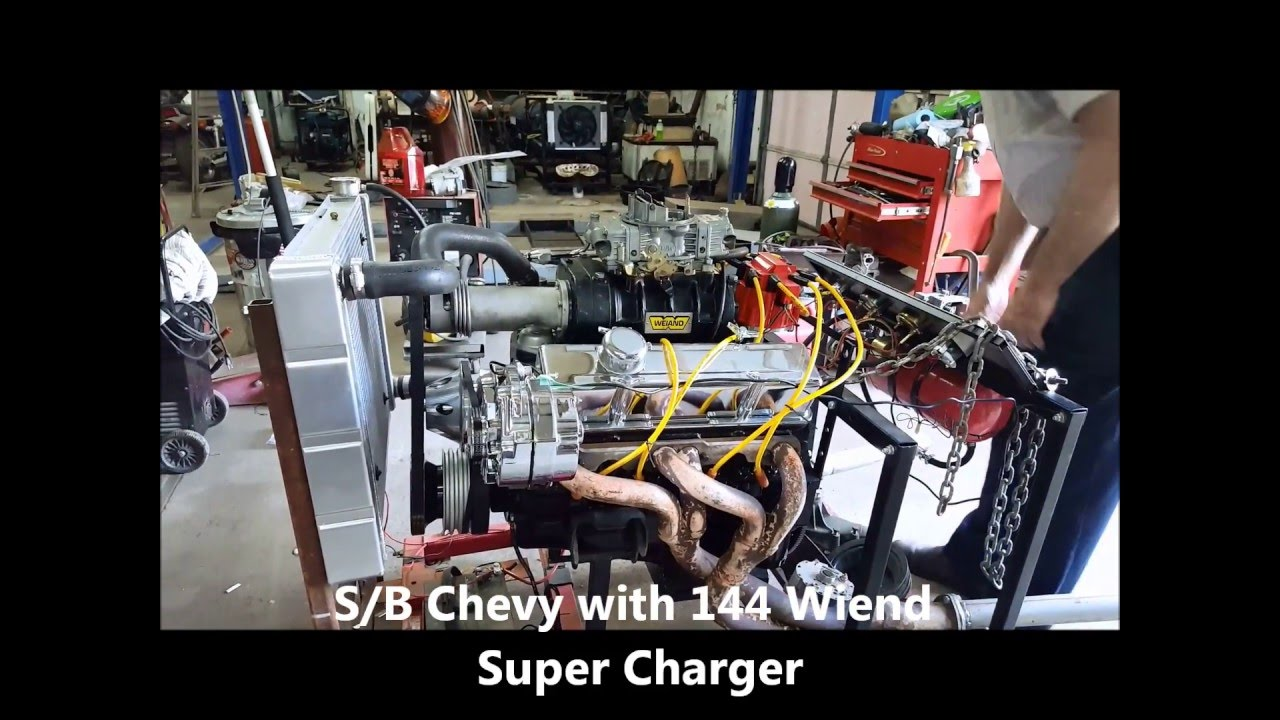 Chevy 350 with supercharger