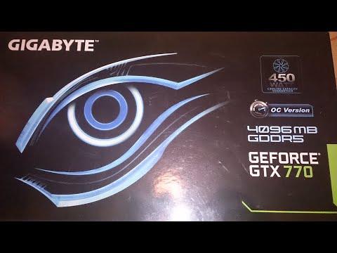 Ремонт видеокарты Geforce GTX770 4096MB GDDR5, фирмы Gigabyte.