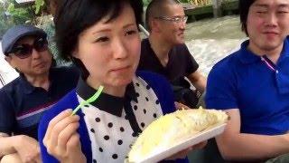 【衝撃】フルーツの王様 ドリアン!! The Durian The Controversial Ki...