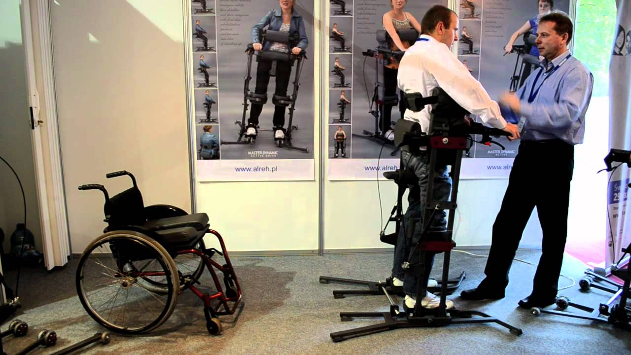 Paraplegics Standing Up From Wheelchair Youtube