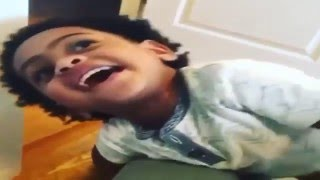 Lil Durk's Youngest Son Letting His Mama Know He's Team Durk And Dej Loaf (Petty)