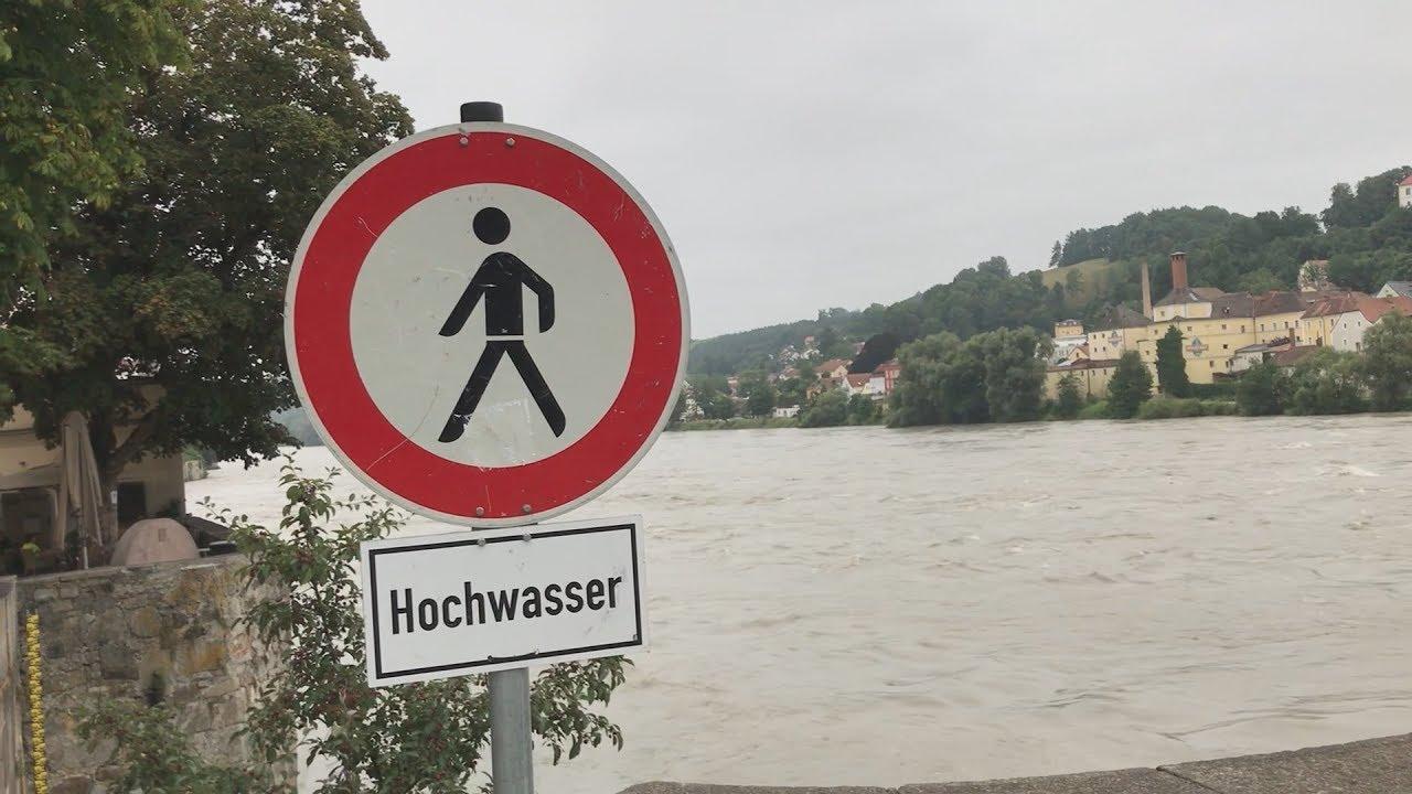 Wasserpegel Passau