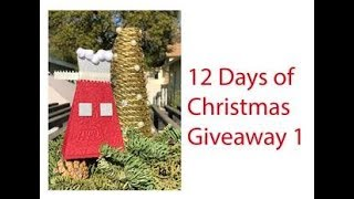 12 Days of Christmas Day 8 Giveaway 1