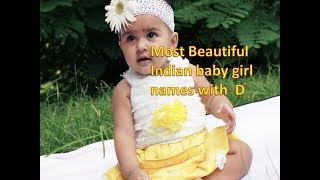 BABY GIRL NAMES WITH D 2019 // ALLINONE1 CHANNEL