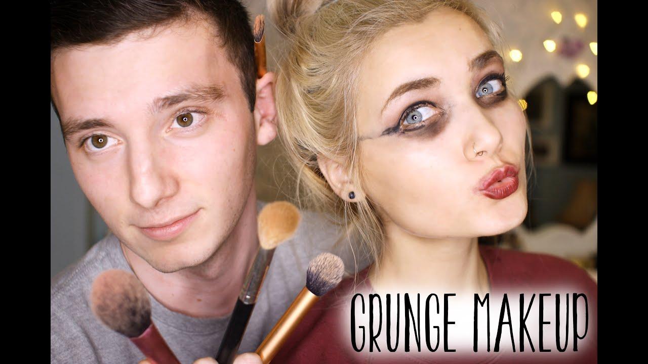 Boyfriend Does My Makeup!!! - YouTube