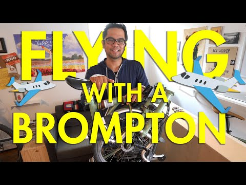 Bike Hack: Flying With A Brompton (No Box, No Extra Fees)