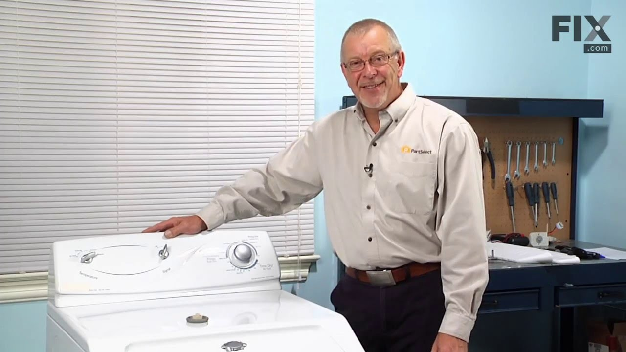 Maytag Dryer Repair How To Replace The Timer Knob Youtube Circuit Board 316434800 Repaircliniccom