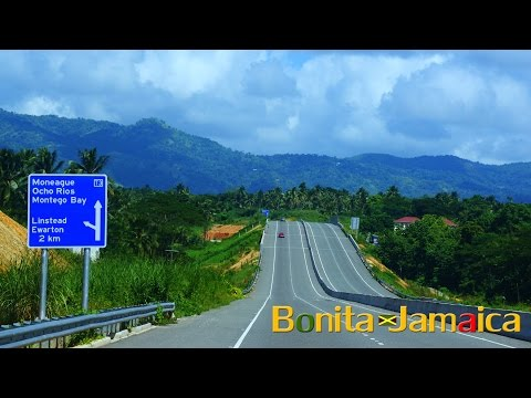 Kingston To Ocho Rios Via Jamaica's Beautiful New Highway