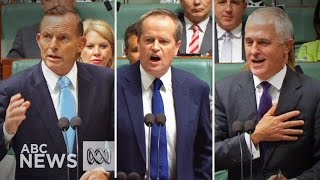 Shorten labels Turnbull 'Zorro', 'Hamlet' in Parliament