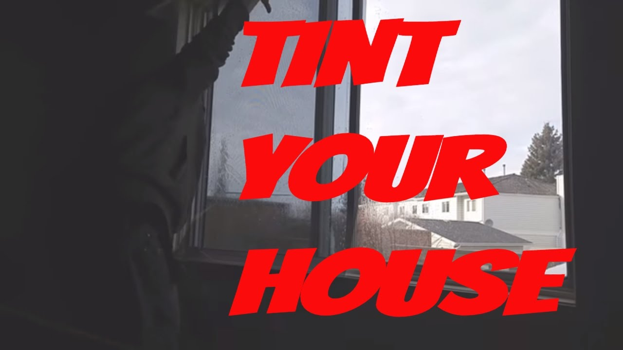 How To Tint House Windows Residential Home Window Tinting