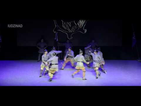 Танец из СКИФО-АЛАНСКОЙ программы. Ансамбль СИМД