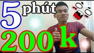 200k Trong 5 Phút | Hướng Dẫn Kiếm Tiền Trên Điện Thoại | Kiếm Tiền Online Nhanh Nhất