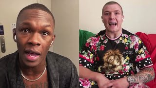 Israel Adesanya and Marvin Vettori Get Heated | Full Interview | UFC 263