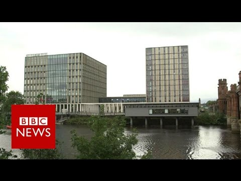 RIBA: City of Glasgow College, Riverside Campus - BBC News