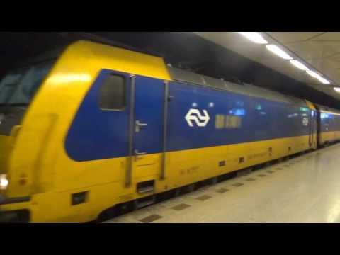 Schiphol Airport Train Station May 2017