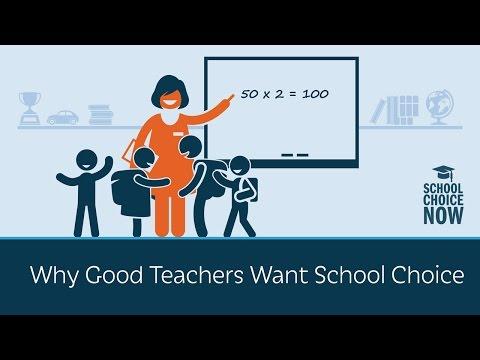 Why Good Teachers Want School Choice