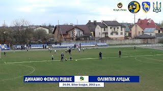 «Динамо-Фемілі» Рівне - «Олімпія» Луцьк (Leo Cup 2021, Огляд матчу)