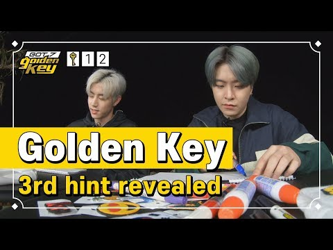 [GOT7 Golden Key Ep.12] Golden Key  3rd Hint Revealed(골든키 세 번째 힌트 공개)