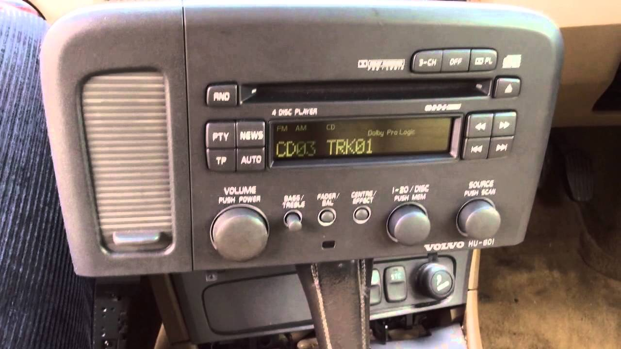 maxresdefault volvo hu 801 radio cd changer youtube volvo hu-801 wiring diagram at reclaimingppi.co