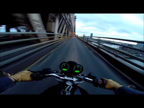 Ducati NYC vlog 38 - Manhattan to Queens Bridge