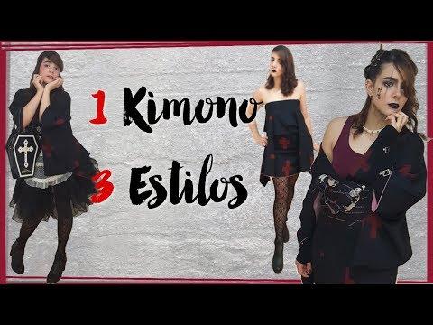 1 kimono 3 estilos | Gothic Lolita - Yoshikimono - Visual Kei | Kimono Fashion