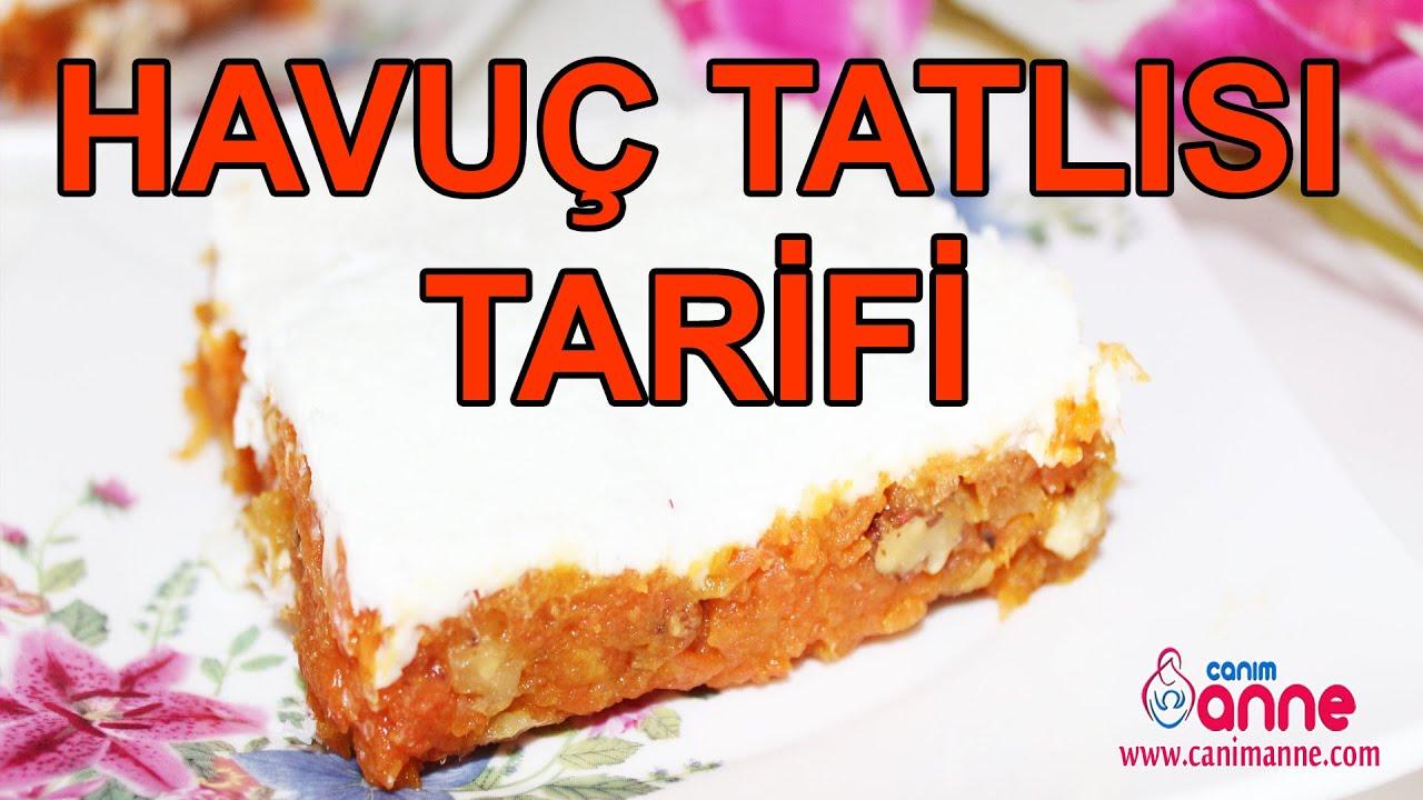 Havuçlu Portakallı İrmik Tatlısı Tarifi