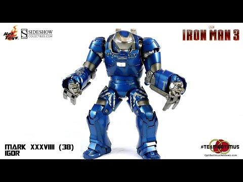 Video Review of the Hot Toys Iron Man 3: Mark XXXVIII (38) Igor