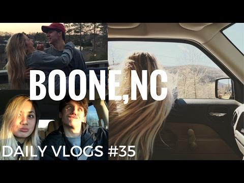 TRAVEL VLOG: BOONE, NC | DAILY VLOGS #35 | Feb. 4. 17.