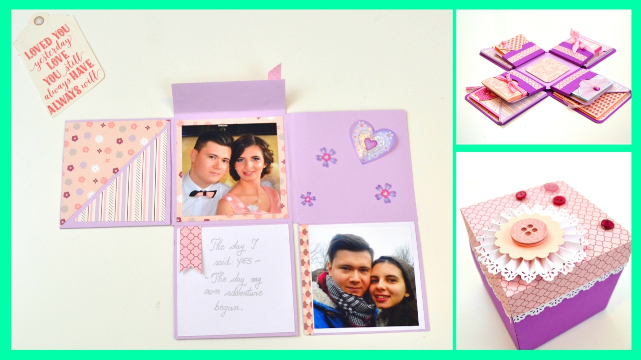 diy crafts diy photo album for boyfriend how to make a folding