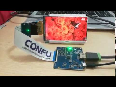 Confu hdmi to mipi dsi driver board AUO G050TAN01 0 5 inch 720x1280 TFT LCD  industrial panel