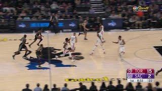 1st Quarter, One Box Video: Sacramento Kings vs. Toronto Raptors